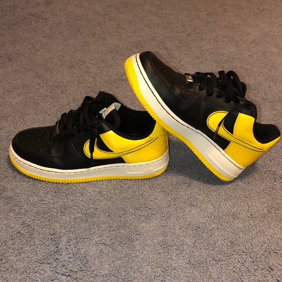 purchase cheap d4ee9 572ac Nike Air Force One - black and yellow edition. M5b8dc3dcb6a94268f27886ee.  Other Shoes ...